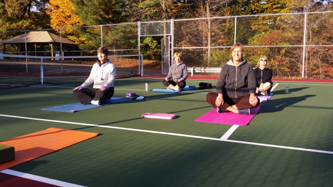 yoga at kiwanis - october final days